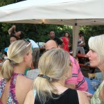 Big party at the Sfriso WInery