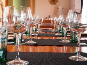 Sfriso Tasting table
