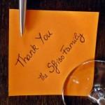 Un ringraziamento speciale per essere un amico e un cliente fedele