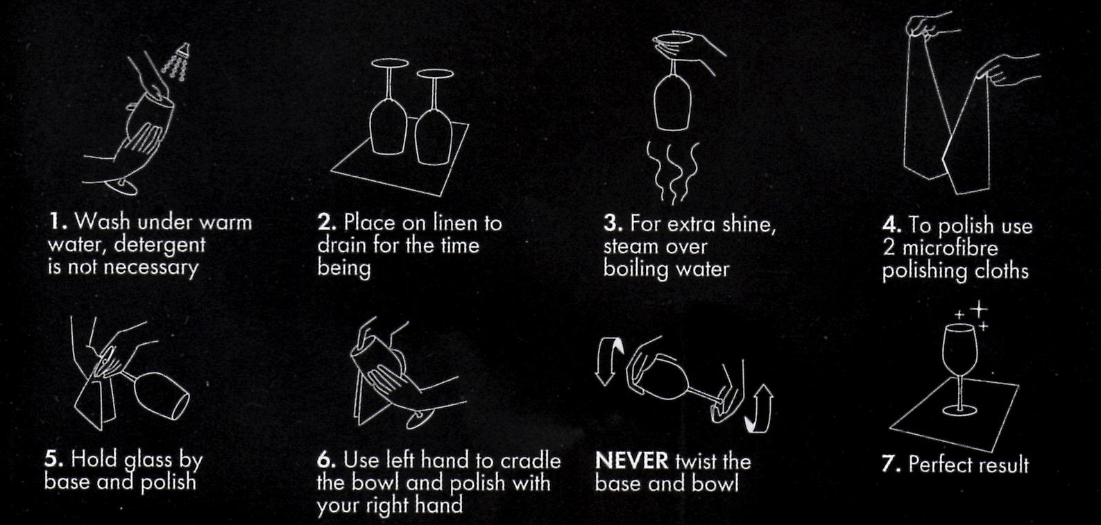 Riedel instructions