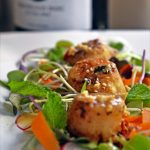 Summer calls for Prosecco like Sfriso Prosecco calls for Spicy Scallop Salad!
