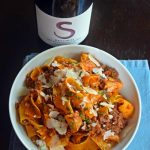 Who said Pappardelle with Lamb Ragu &  Shaved Pecorino?