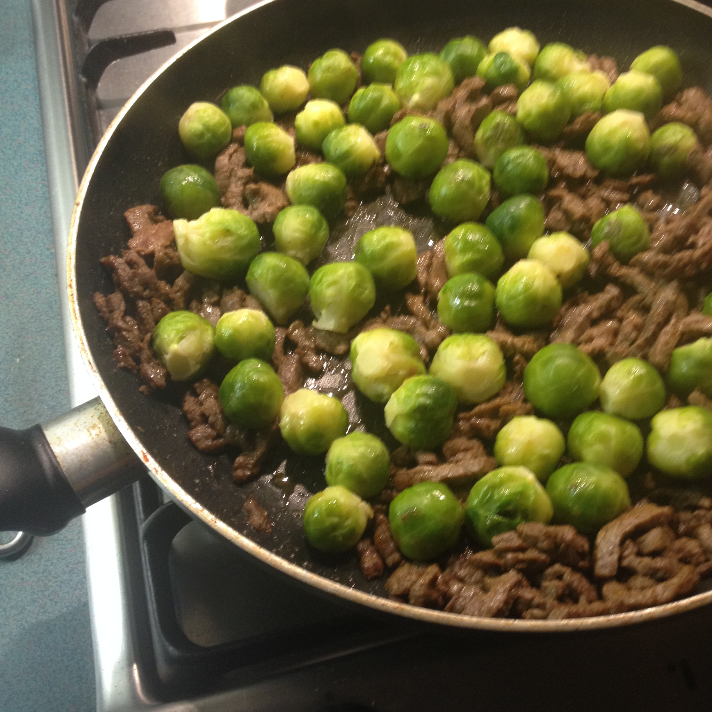 Brussels Sprouts with Refosco Sfriso