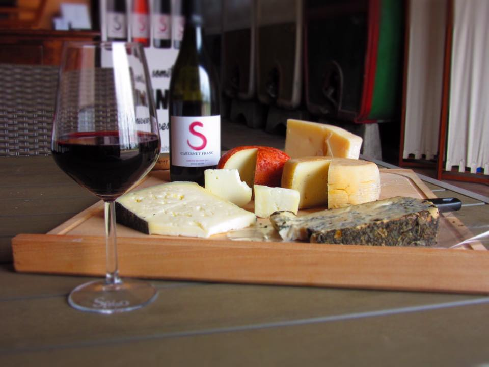 Sfriso wine and cheese